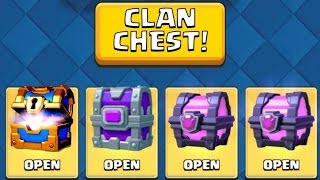 Download OPENING MAX ''CLAN CHEST'' :: Clash Royale :: EPIC CHEST AND CLAN CHEST OPENING! Video