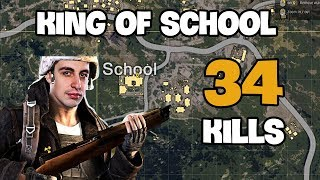 Download King of school - Shroud 34 kills Solo vs DUO FPP [NA] - PUBG Highlights TOP 1 #1 Video