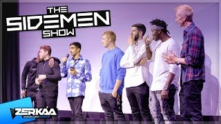 Download YOUTUBERS REACT TO THE SIDEMEN SHOW Video