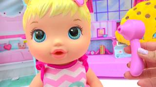 Download Play Doctor with Baby Alive Better Now Bailey Who Drinks & Wets Diaper - Cookieswirlc Video Video