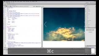 Download How to create a beautiful image slider slideshow from scratch in Dreamweaver CS6 Video