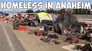 Download Homeless People in Anaheim, California or Third World Country? Video