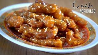 """Download Cerdo agridulce auténtica comida china """"Tang Cu Li Ji"""" Video"""