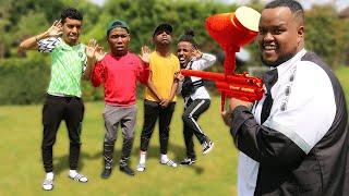 Download Last To Get Shot Wins £10,000 Challenge Video