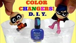Download D.I.Y. Color Changers! Incredibles 2 Baby Jack Jack & Violet feat. Auntie Edna's Nail Polish Video