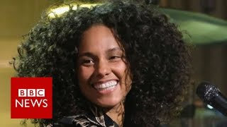 Download Alicia Keys: The 100 Women Interview - BBC News Video