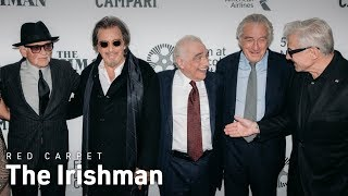 Download The Irishman World Premiere Red Carpet Interviews | NYFF57 Video