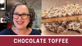 Download How to Make Chocolate Toffee Crunch - The Frugal Chef Video
