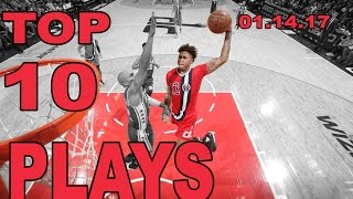 Download Top 10 NBA Plays of the Night: 01.14.17 Video