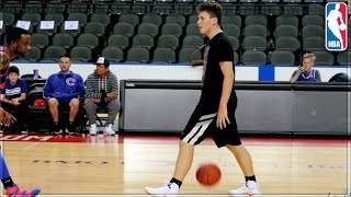 Download PLAYING BASKETBALL ON AN NBA COURT! Video