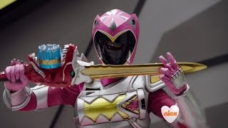 Download Power Rangers Dino Super Charge - Nightmare in Amber Beach - Megazord Fight Video