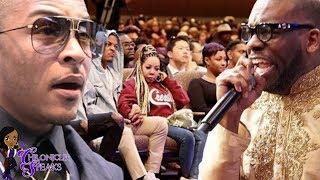 Download T.I. Felt Pastor Preyed On His Pockets During Sunday Service + Jamal Bryant Denies It Video