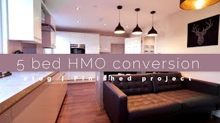 Download 5 bed HMO Conversion Vlog   Finished Project Video