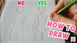 Download ☆ HOW TO DRAW || Female Body Tutorial ☆ Video