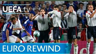 Download EURO 2004 highlights: France 2-1 England Video