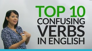 Download Top 10 Confusing English Verbs for Beginners Video