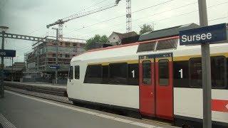 Download SBB Train Ride: IR 2522 from Lucerne to Bern, Switzerland Video