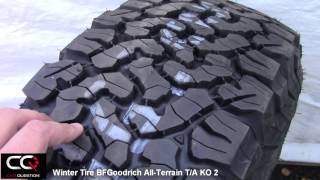 Download Winter Tire Review: BFGoodrich All-Terrain T/A KO2, simply the best for a truck! Video