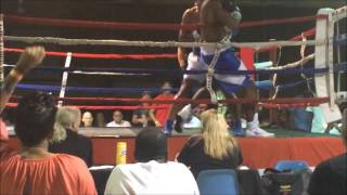 Download Britton Norwood, Sr's 1st Professional Fight Video
