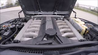 Download BMW E34 V12 driving,sound check,top speed,walkaround,head cam CLEAR SOUND headphones needed Video