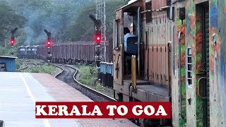 Download ALCO Ernakulam Delhi Duronto Full Journey   Ernakulam To Goa Video