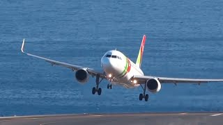 Download Traumatic Landings B757 A320 B737 || Bad Wind || Madeira Video