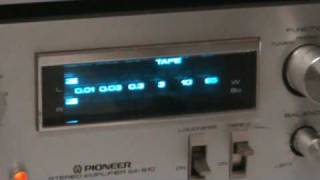 Download PIONEER Vintage Blue Line Stereo Audio Equipment Demonstation! Video
