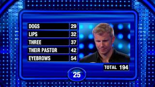 Download Incredible Fast Money Round on Celebrity Family Feud Video