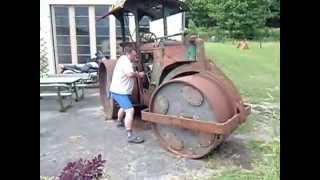 Download Démarrage ancien rouleau compresseur Zettelmeyer 1944 Video
