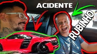 Download Andando com o Rubinho de Audi R8 ! + ACIDENTE ! ARREBENTOU O R8 !!!! = Canal D2M Video
