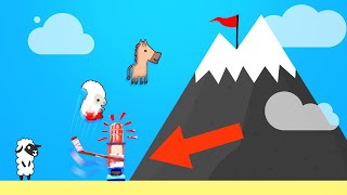 Download FIRST PERSON TO GET TO THE TOP WINS! (Ultimate Chicken Horse) Video
