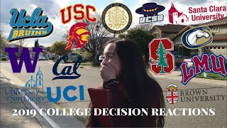 Download I GOT INTO MY DREAM SCHOOL?! (college decision reactions 2019) Video