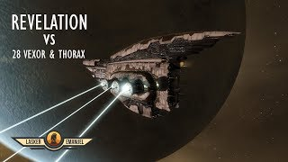 Download EVE Online PVP: Revelation v 28 Vexor/Thorax gang Video