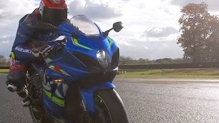 Download Taylor Mackenzie Tests New GSX-R1000 Video