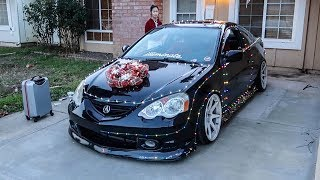Download HOW TO WRAP YOUR CAR WITH CHRISTMAS LIGHTS! Video