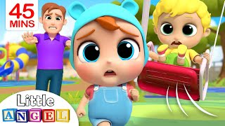 Download Play Safe at the Playground | Little Angel Kids Songs & Nursery Rhymes Video