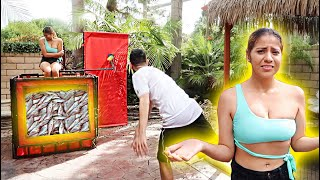Download YOU WON'T BELIEVE WHAT'S INSIDE THE DUNK TANK... Video