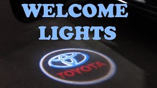 Download Door Welcome Logo Lights Installation Video