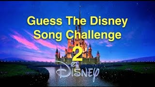 Download 20 MORE great Disney Songs - CAN YOU GUESS THEM? Video
