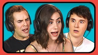 Download YOUTUBERS REACT TO 90s INTERNET COMMERCIALS Video
