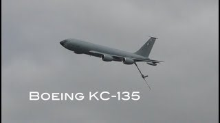 Download Air to air refuelling aircraft Boeing KC 135R Stratotanker walk around and cockpit interior Video