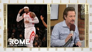 Download Melo is done | The Jim Rome Show Video