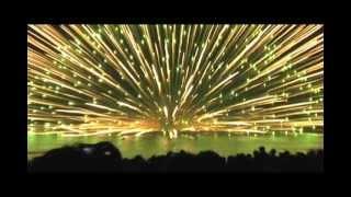 Download Huge Fireworks Explosion: 900 Millimeter Water Shell Video