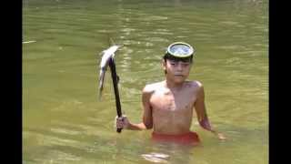 Download Traditional Dayak Fishing Trip, Sungai Sekayam, Kalimantan Barat Indonesia 加里曼丹婆罗洲钓鱼之旅 Video