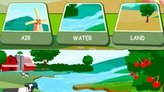 Download Children's: Earth's Resources - Air, Water, Land. How to Save the Earth's Resources Video