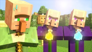 Download Villager & Witch Life 1 - Minecraft Animation Video