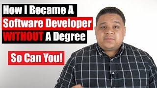 Download How I Became A Software Developer Without A Degree Video