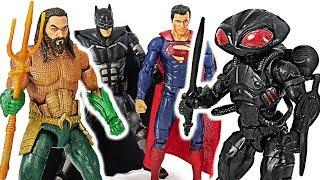 Download Justice League Aquaman VS Black Manta! #DuDuPopTOY Video