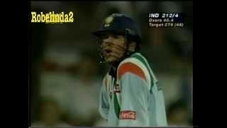 Download *SHARJAH SACHIN GOLD!* Sachin Tendulkar BALL BY BALL 143 vs Australia 1998 Video