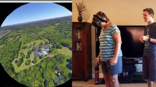 Download 61-Year-Old Mom Plays Google Earth VR (HTC Vive) Video
